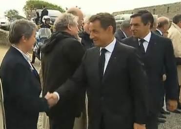 Accueil républicain, Port-Louis 8 mai 2011