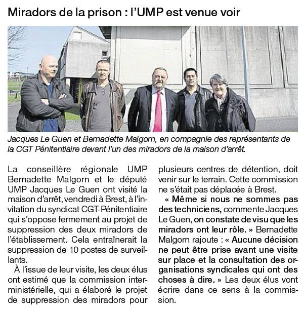 12-03-24 Visite centre penitentiaire Brest-OF