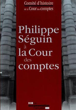 Philippe SEGUIN à la Cour des Comptes