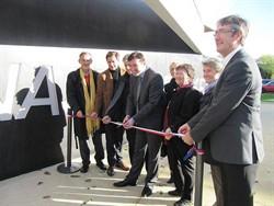 Inauguration du gymnase de Kergreis