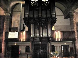 Orgue - Eglise Saint Matthieu à Morlaix
