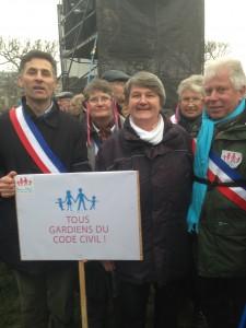 Des élus venus de toutes les régions de France