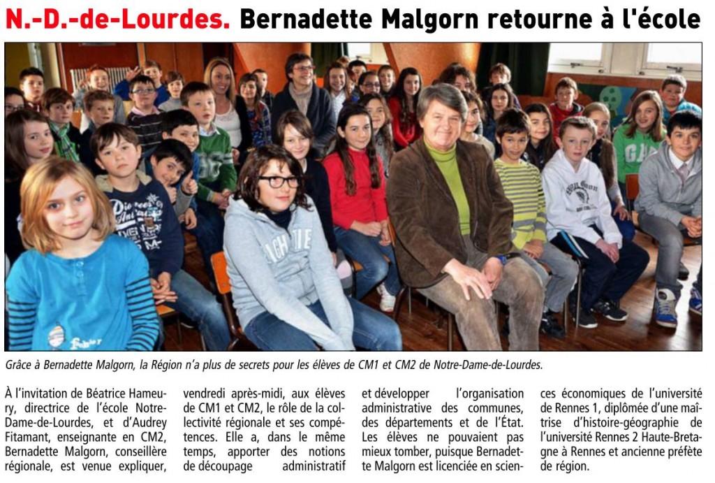 visite école  Le télégramme_30.01.13