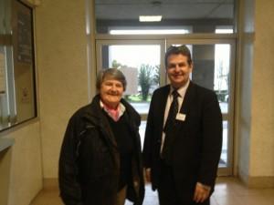 Bernadette MALGORN et Phlippe PORTAL, directeur de l'IFAC