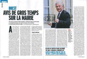 Avisde gros temps sur la mairie de Brest Magazine Marianne