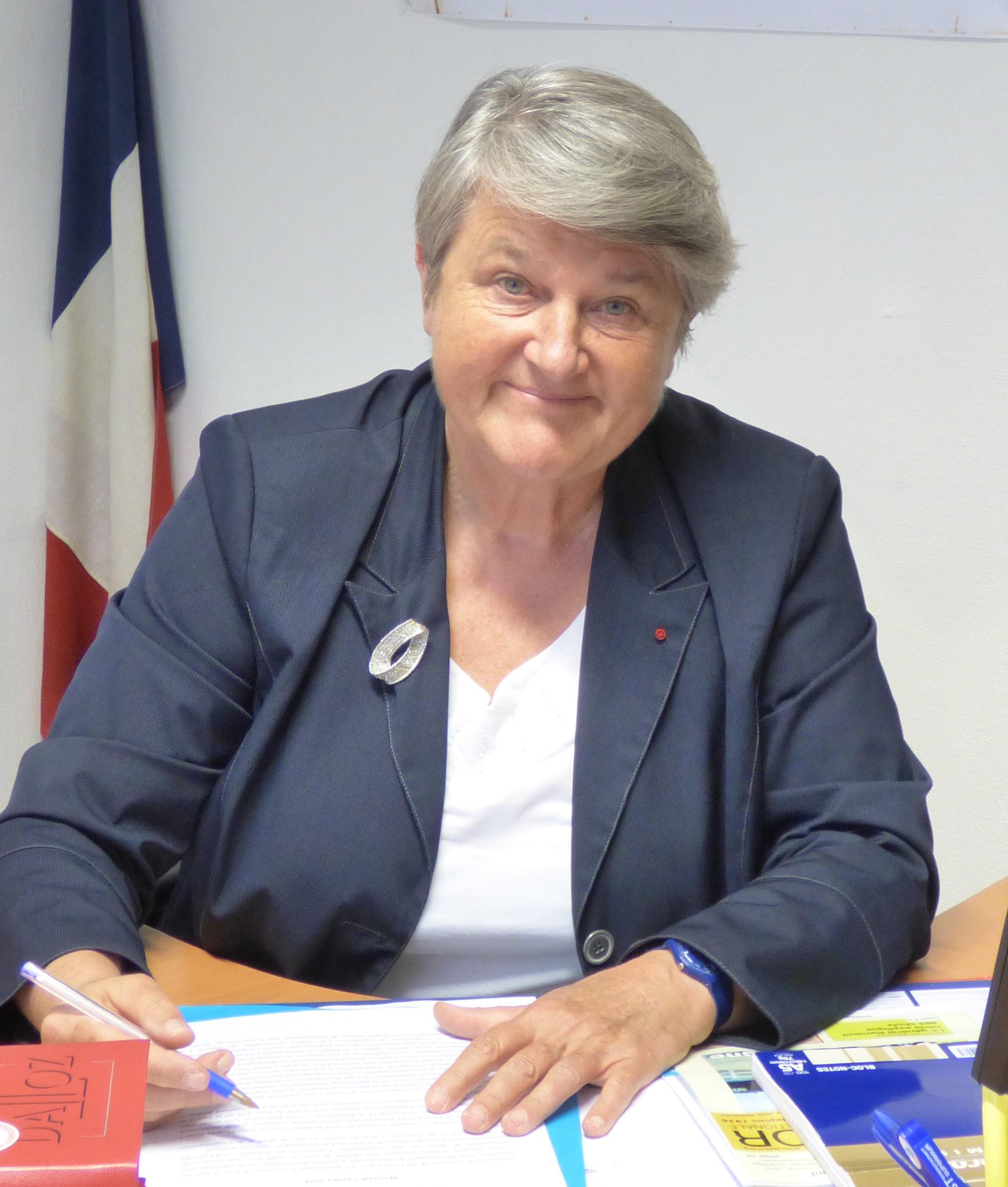 Bernadette Malgorn conseil métropole 14 octobre 2016