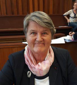 Bernadette Malgorn COnseil municipal de la ville de Brest