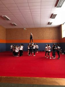 Bernadette Malgorn cheerleading camp 2017